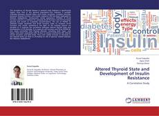Buchcover von Altered Thyroid State and Development of Insulin Resistance