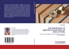 Bookcover of Job Satisfaction of Agricultural Scientists of SAUs of India