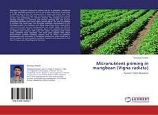 Bookcover of Micronutrient priming in mungbean (Vigna radiata)
