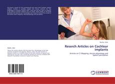 Reserch Articles on Cochlear implants的封面