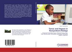 Tense and Aspect in Runyankore-Rukiga kitap kapağı