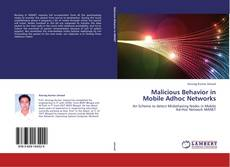 Capa do livro de Malicious Behavior in Mobile Adhoc Networks