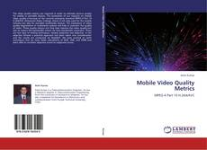 Mobile Video Quality Metrics kitap kapağı