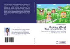 Buchcover von Dynamics of Rural Development in Nigeria