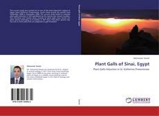 Portada del libro de Plant Galls of Sinai, Egypt