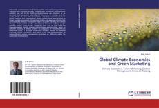 Capa do livro de Global Climate Economics and Green Marketing