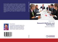 Copertina di Research Methods and Techniques