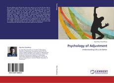 Bookcover of Psychology of Adjustment
