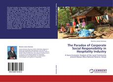 Bookcover of The Paradox of Corporate Social Responsibility in Hospitality Industry