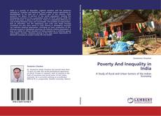 Bookcover of Poverty And Inequality in India