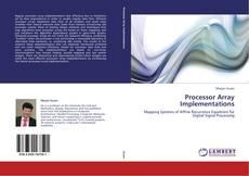 Capa do livro de Processor Array Implementations