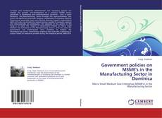 Government policies on MSME's in the Manufacturing Sector in Dominica kitap kapağı