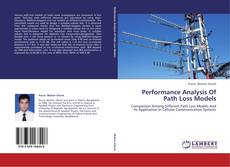 Portada del libro de Performance Analysis Of Path Loss Models