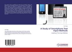 Buchcover von A Study of Smartphone Text Input Methods