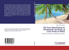 Couverture de FDI from Developing to Developed Countries: A Case Study of BEKO