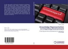 Capa do livro de Knowledge Representation in E-learning Environment