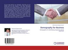 Bookcover of Demography for Business