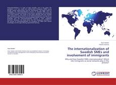 Capa do livro de The internationalization of Swedish SMEs and involvement of immigrants