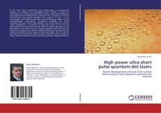 Обложка High power ultra-short pulse quantum-dot lasers