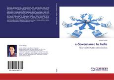 e-Governance In India kitap kapağı