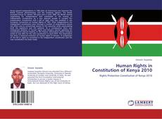 Bookcover of Human Rights in Constitution of Kenya 2010