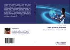Bookcover of 3D Content Transfer