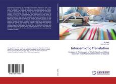 Bookcover of Intersemiotic Translation