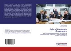 Copertina di Role of Corporate Governance