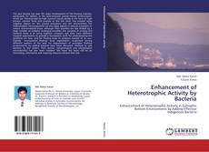 Buchcover von Enhancement of Heterotrophic Activity by Bacteria