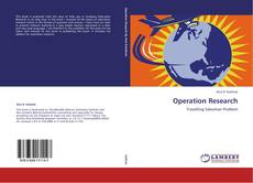 Couverture de Operation Research