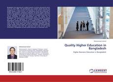 Couverture de Quality Higher Education in Bangladesh