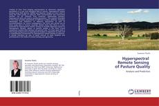 Buchcover von Hyperspectral   Remote Sensing   of Pasture Quality