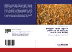 Bookcover of Effect of foliar applied chemicals on drought tolerance in wheat