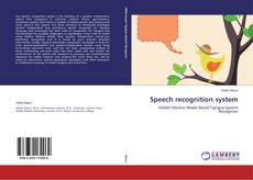 Speech recognition system的封面
