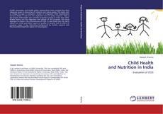 Copertina di Child Health  and Nutrition in India