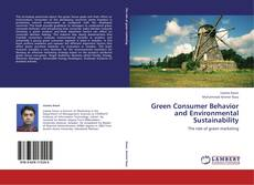 Bookcover of Green Consumer Behavior and Environmental Sustainability