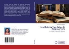Обложка Insufficiency Translation In Religious Texts
