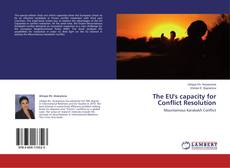Bookcover of The EU's capacity for Conflict Resolution