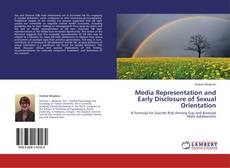 Capa do livro de Media Representation and Early Disclosure of Sexual Orientation