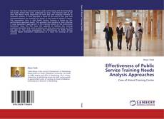 Portada del libro de Effectiveness of Public Service Training Needs Analysis Approaches