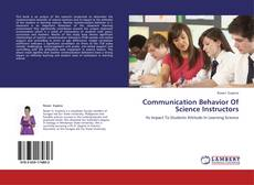 Bookcover of Communication Behavior Of Science Instructors