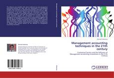 Capa do livro de Management accounting techniques in the 21th century