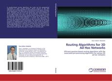 Bookcover of Routing Algorithms for 3D Ad Hoc Networks