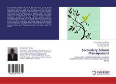 Bookcover of Secondary School Management