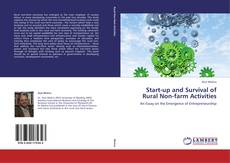 Bookcover of Start-up and Survival of Rural Non-farm Activities