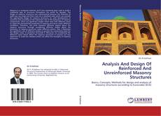 Bookcover of Analysis And Design Of Reinforced And Unreinforced Masonry Structures