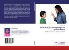 Couverture de Effects of banning corporal punishment