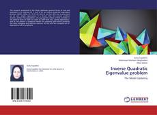 Bookcover of Inverse Quadratic Eigenvalue problem