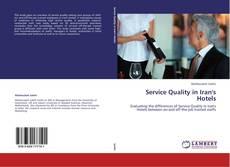 Copertina di Service Quality in Iran's Hotels