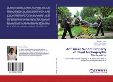 Bookcover of Antisnake Venom Property of Plant Andrographis Paniculata